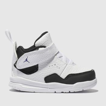 Nike Jordan White & Black Courtside 23 Boys Toddler