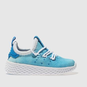 Adidas Blue Tennis Pharrell Hu Holi Boys Toddler