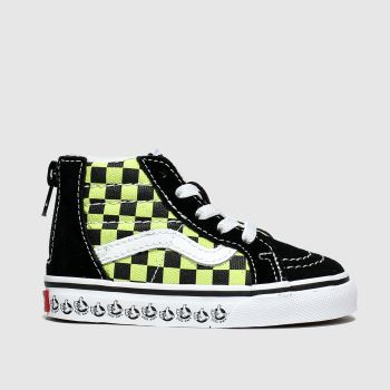 Vans Black & Green Sk8-hi Zip X Bmx Boys Toddler