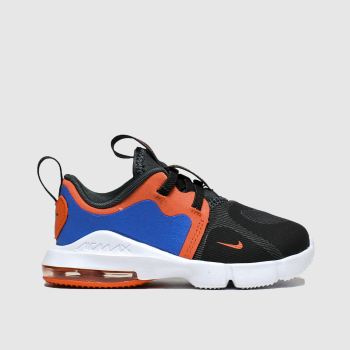 Nike Black & Orange Air Max Infinity Boys Toddler