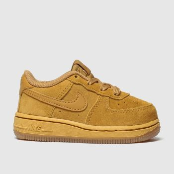 Nike Tan Air Force 1 Lv8 3 c2namevalue::Boys Toddler
