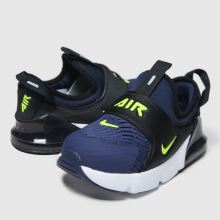 realeza Ideal simultáneo  Boys Navy & Black Nike Air Max 270 Extreme Trainers | schuh