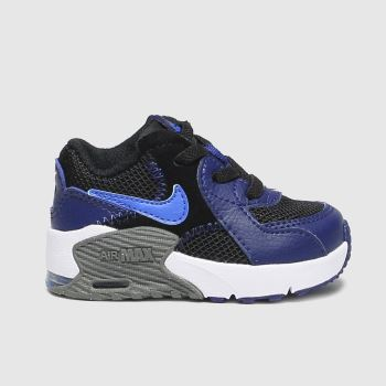 Nike Black & Navy Air Max Excee Boys Toddler