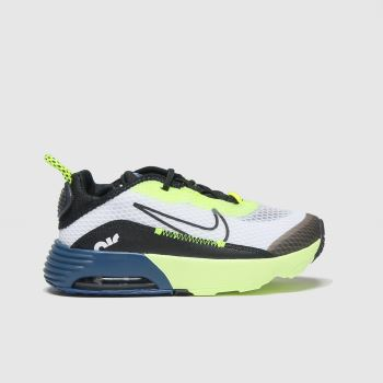 Nike White & Black Air Max 2090 Boys Toddler#