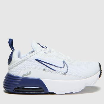 Nike White & Navy Air Max 2090 Boys Toddler