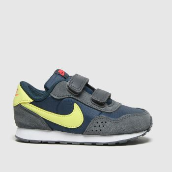 Nike Navy & Lime Md Valiant Boys Toddler#