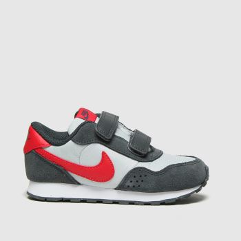 Nike Grey & Black Md Valiant Boys Toddler
