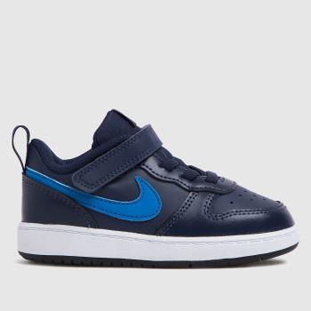 Nike Navy & Pl Blue Court Borough Low 2 Boys Toddler