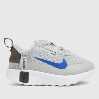Nike Light Grey Reposto Boys Toddler