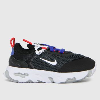 Nike Black & White React Live Boys Toddler