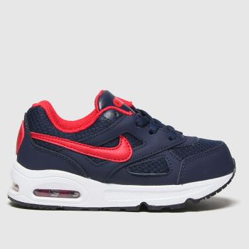 Nike Navy & Red Air Max Ivo Boys Toddler
