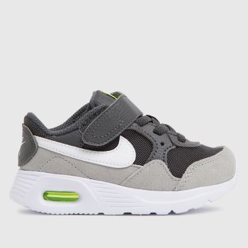Nike Grey & Lime Air Max Sc Boys Toddler