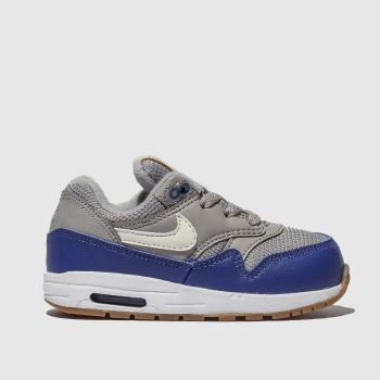 Nike Grey Air Max 1 Boys Toddler