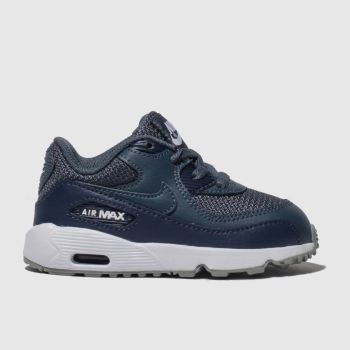 176423c1a99b2 Nike Navy Air Max 90 Mesh Boys Toddler