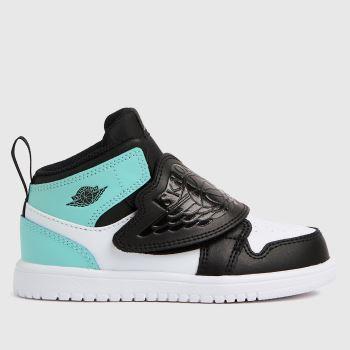 Nike Jordan White & Pl Blue Sky Jordan 1 Boys Toddler