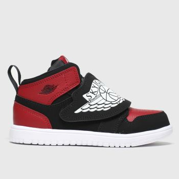Nike Jordan Black & Red Sky Jordan 1 Boys Toddler