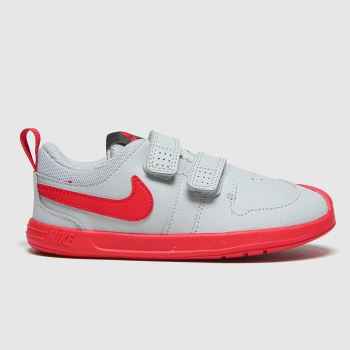 Nike Light Grey Pico 5 2v Boys Toddler