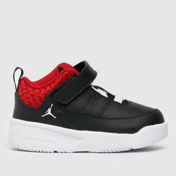 Nike Jordan Schwarz-Rot Max Aura 3 Jungen Kleinkind