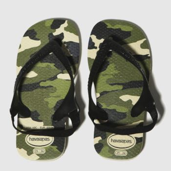 Havaianas Khaki Baby Chic Boys Toddler from Schuh