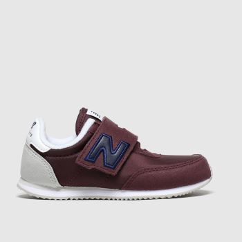 New Balance Burgundy 720 Boys Toddler