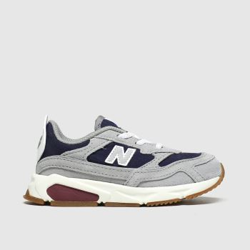 New Balance Grey & Navy Xrc Boys Toddler