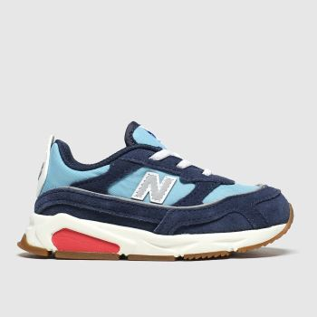 New Balance Navy & Pl Blue Xrc Boys Toddler