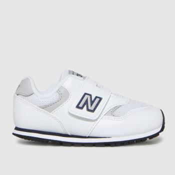 New balance White & grey 393 Boys Toddler