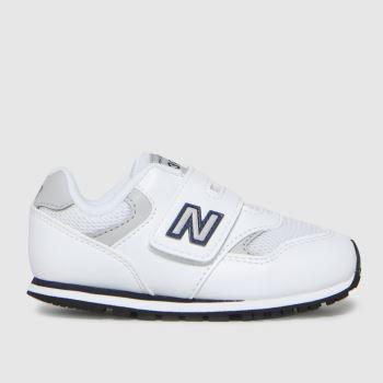 New balance White & grey 393 Boys Toddler
