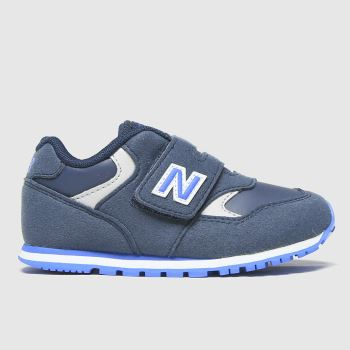 New balance Navy & Pl Blue 393 2v Boys Toddler