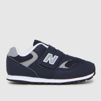 New balance Navy & Grey 393 Boys Toddler