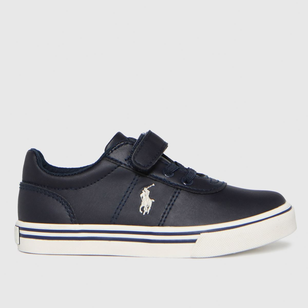 Polo Ralph Lauren Navy & White Hanford Ii Ps Trainers Toddler