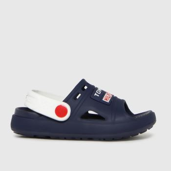 Tommy Hilfiger Navy & White Comfy Boys Toddler