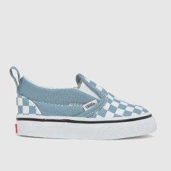 Vans Blue Slip-on V Boys Toddler