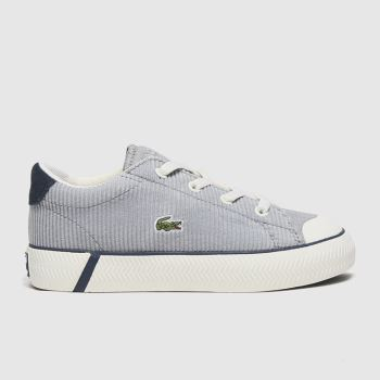 Lacoste White & grey Gripshot Boys Toddler