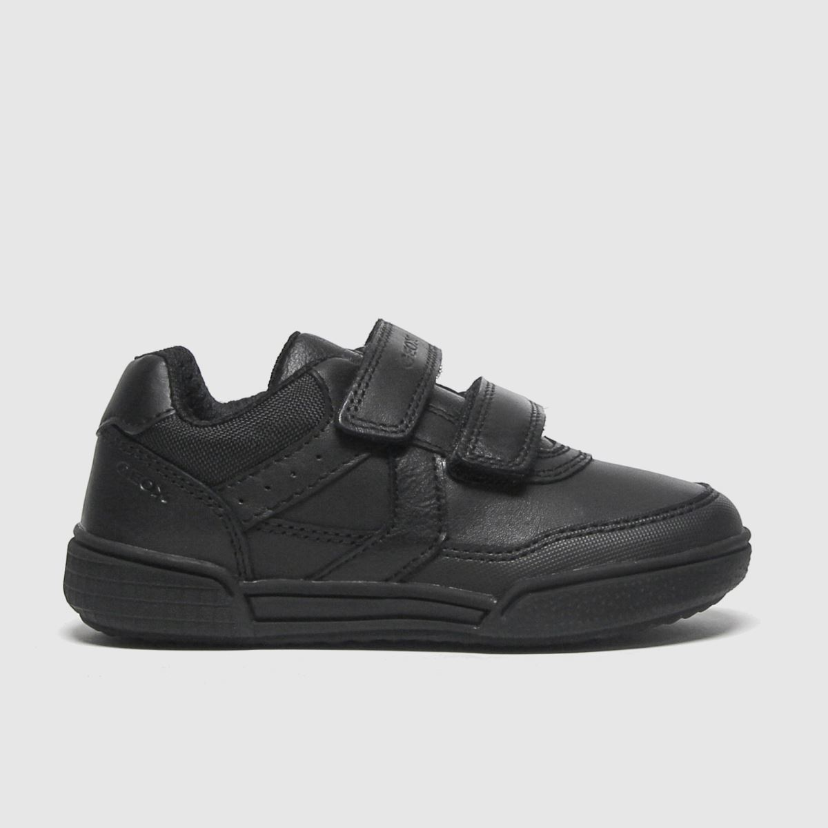 Geox Black Poseido Mid Trainers Toddler