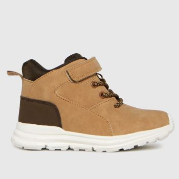 schuh Tan Space Mid Boys Toddler