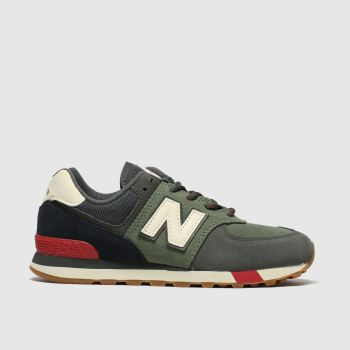 New Balance Khaki 574 Boys Junior
