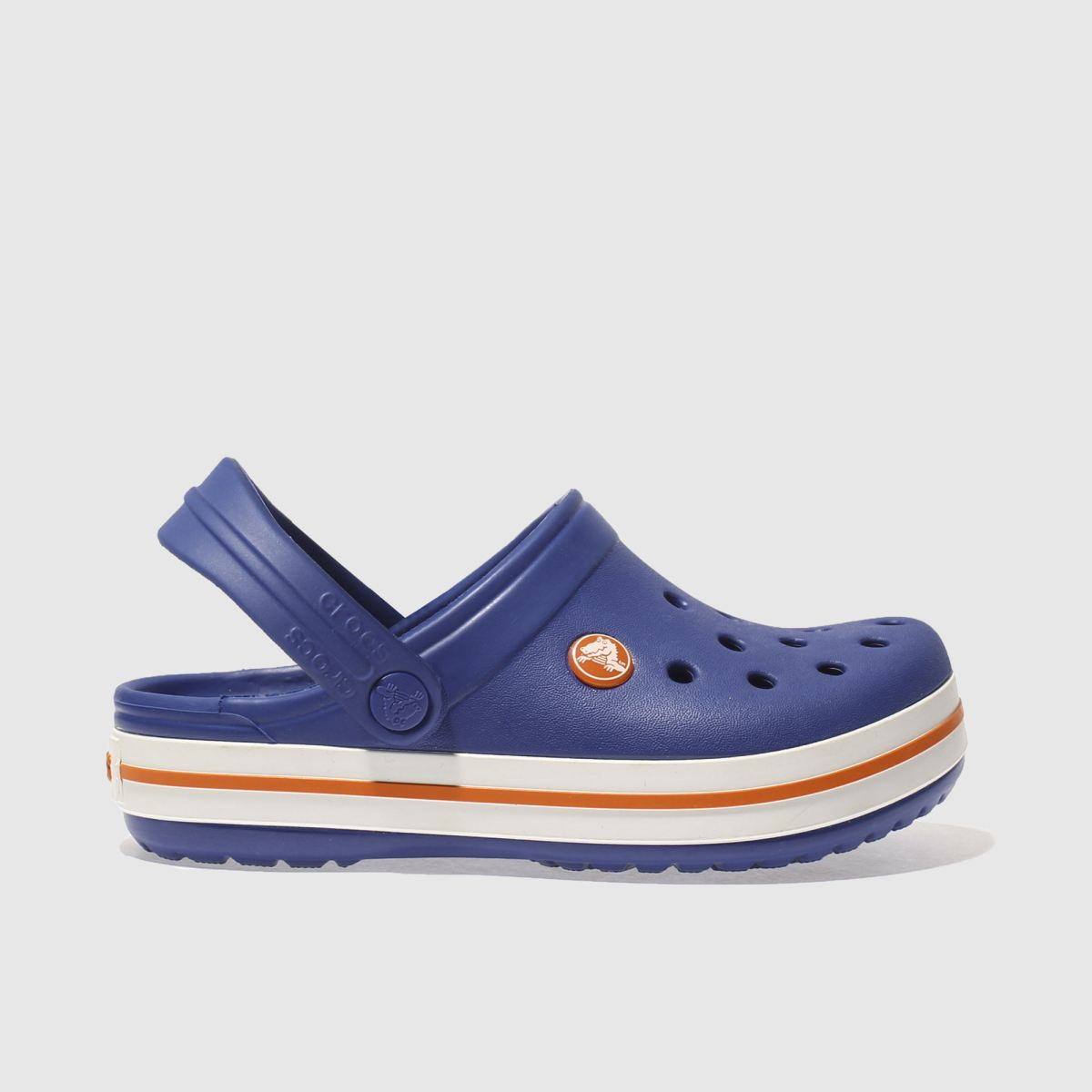 Crocs Blue Crocband Clog Trainers Junior