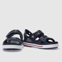 9683b13ac913 Boys navy   white crocs crocband sandal trainers