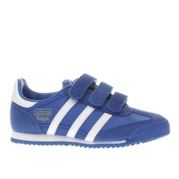 ADIDAS BLUE DRAGON TRAINERS JUNIOR