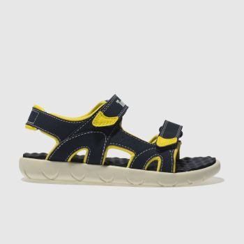 timberland navy perkins row sandals junior