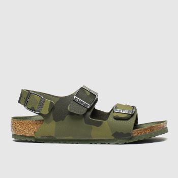 Birkenstock Khaki Milano c2namevalue::Boys Junior