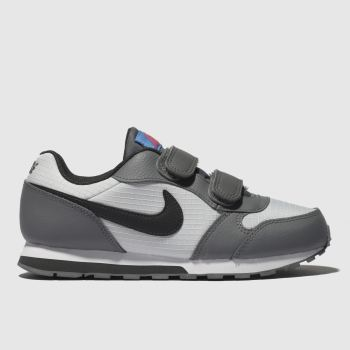 Nike White & grey MD RUNNER 2 Boys Junior