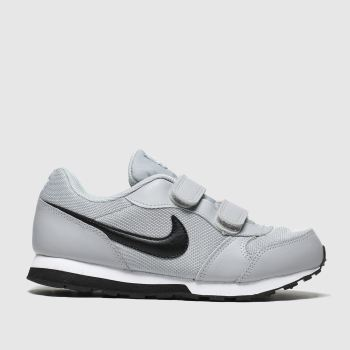 Nike Light Grey Md Runner 2 Boys Junior