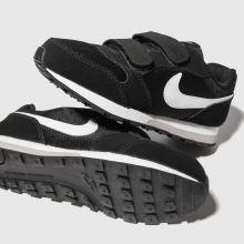 5895b75296e Boys black   white nike md runner 2 trainers