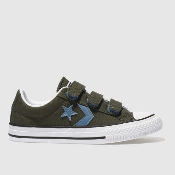 Converse Khaki Star Player Ox Boys Junior