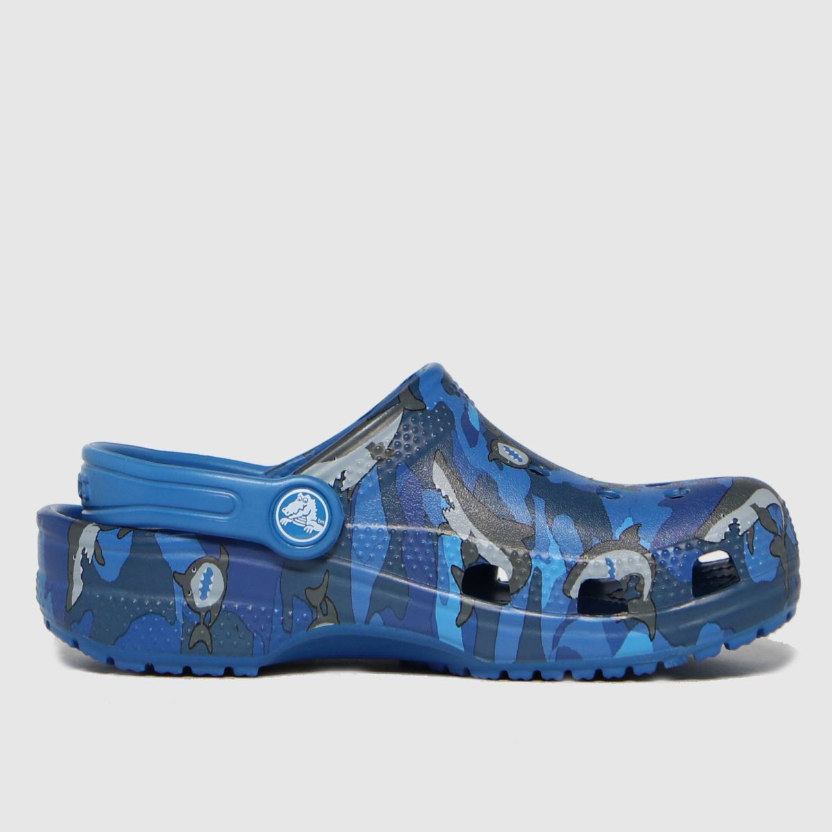 Crocs Blue Classic Clog SANDAL Junior