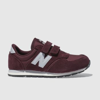 New Balance Burgundy 420 Boys Junior