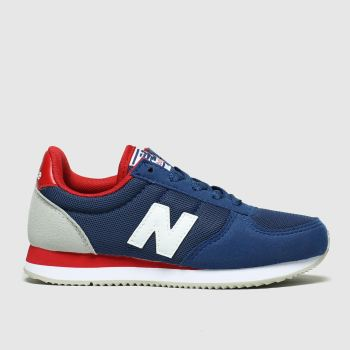 New Balance Navy & Red 220 Boys Junior