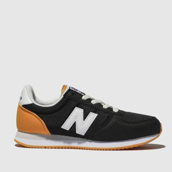 New Balance Black & Orange 220 Boys Junior